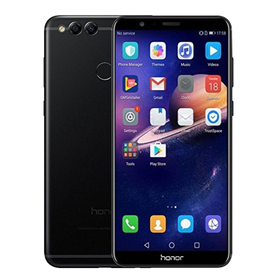 Смартфон Honor 7X 4GB+64GB (черный)