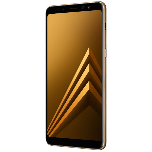 Смартфон Samsung Galaxy A8+ 32Gb (золотистый) (2018)