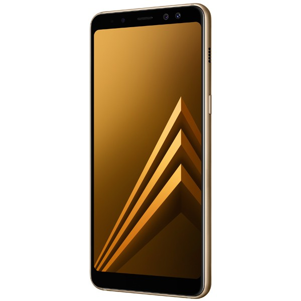 Смартфон Samsung Galaxy A8 32Gb (золотистый) (2018)