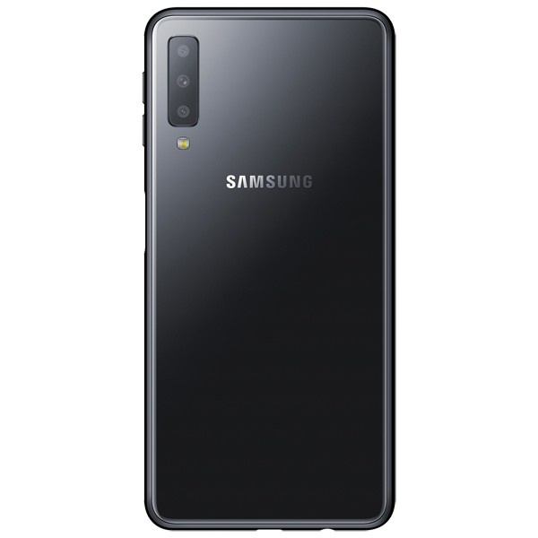 Смартфон Samsung Galaxy A7 64Gb (черный) (2018)