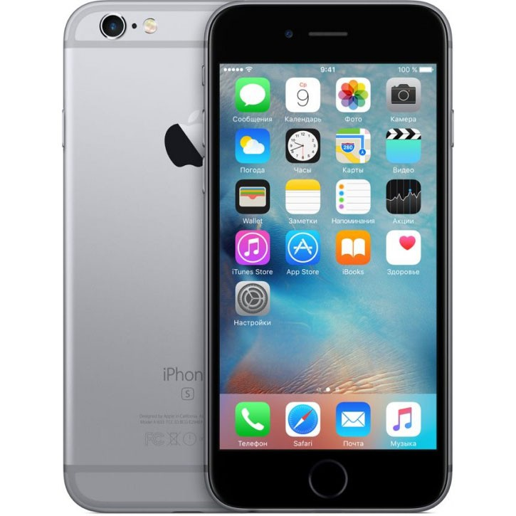 Смартфон Apple iPhone 6S 32Gb (серый космос)