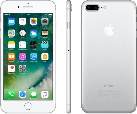 Смартфон Apple iPhone 7 Plus 32Gb/128Gb/256Gb (серебристый)