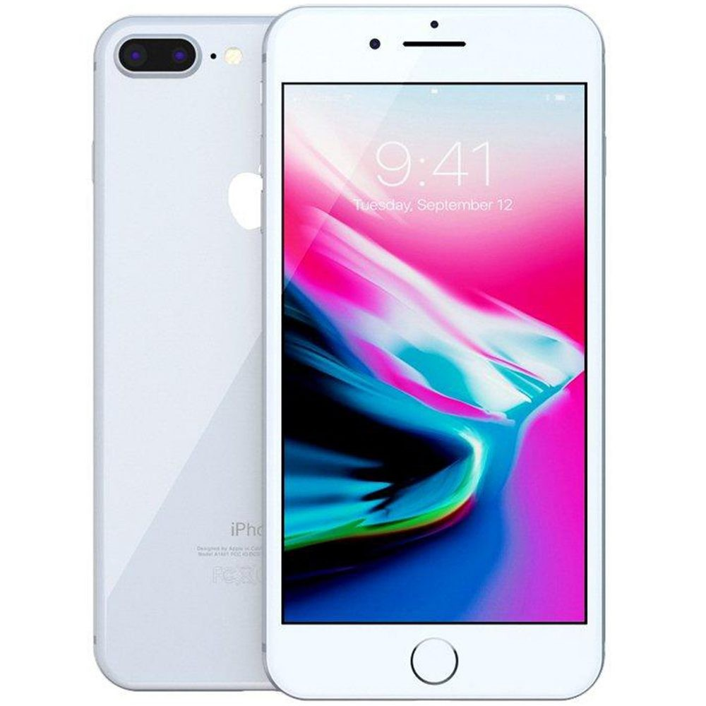 Смартфон Apple iPhone 8 Plus 64Gb/256Gb (серебристый)