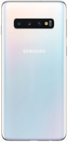 Смартфон Samsung Galaxy S10 128Gb (перламутр)