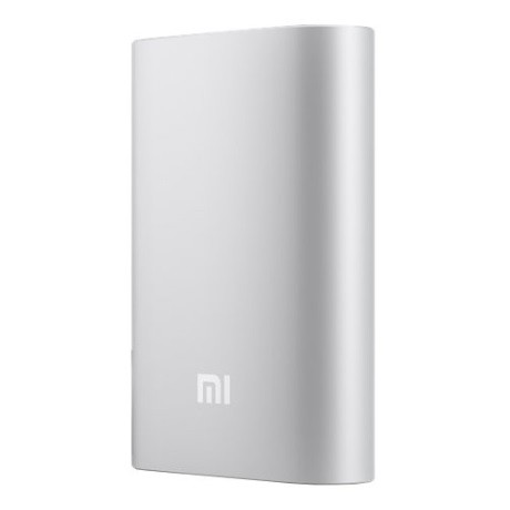 Xiaomi Mi Power Bank (10000 mAh) серебристый