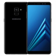 Смартфон Samsung Galaxy A8 32Gb (черный) (2018)