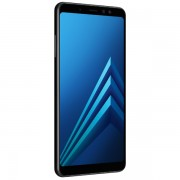 Смартфон Samsung Galaxy A8+ 32Gb (черный) (2018)