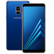 Смартфон Samsung Galaxy A8+ 32Gb (синий) (2018)
