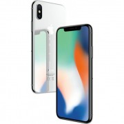 Смартфон Apple iPhone X 64Gb/256Gb (серебристый)